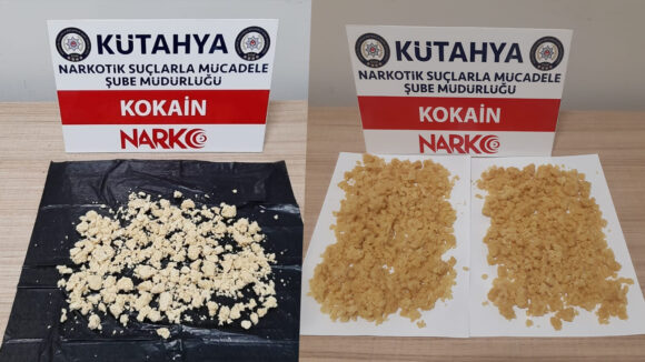 Narkotik yine geçit vermedi, piyasa değeri 590 bin TL