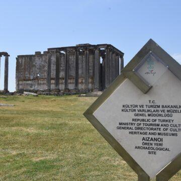 Aizanoi'de eksik parça tamamlandı, 'Metropolis' kapısı açıldı