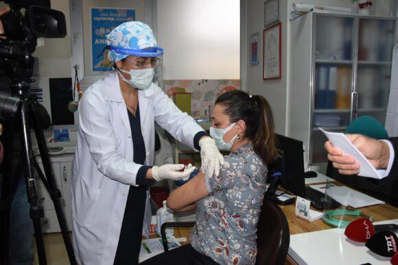 Yapılan aşı sayısı 212 bini aştı