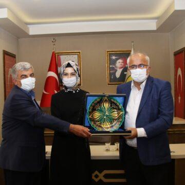 AK Parti'den Başkan Güler'e ziyaret