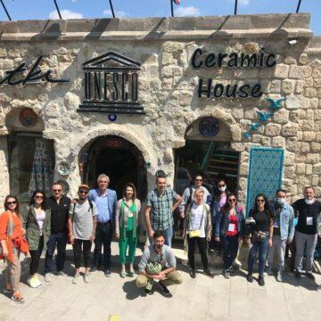 Nevşehir'de gurur dolu 'Çini' günü