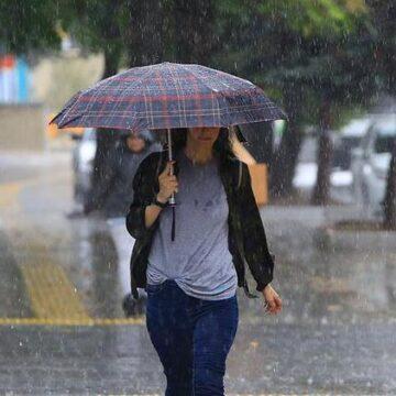 Meteoroloji'den kuvvetli yağış ve sel uyarısı