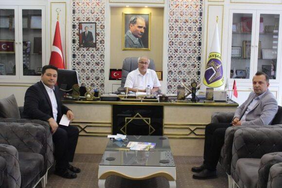 Başkan Güler gurbetçileri ağırladı