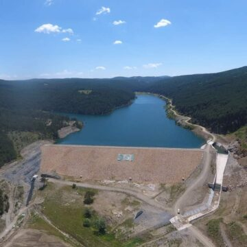 158 bin dekar arazi sulamaya açıldı