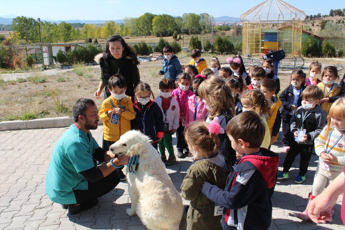 Öğrencilere hayvan sevgisi aşılandı